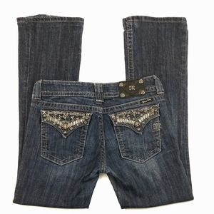 Miss me dark wash bootcut jeans